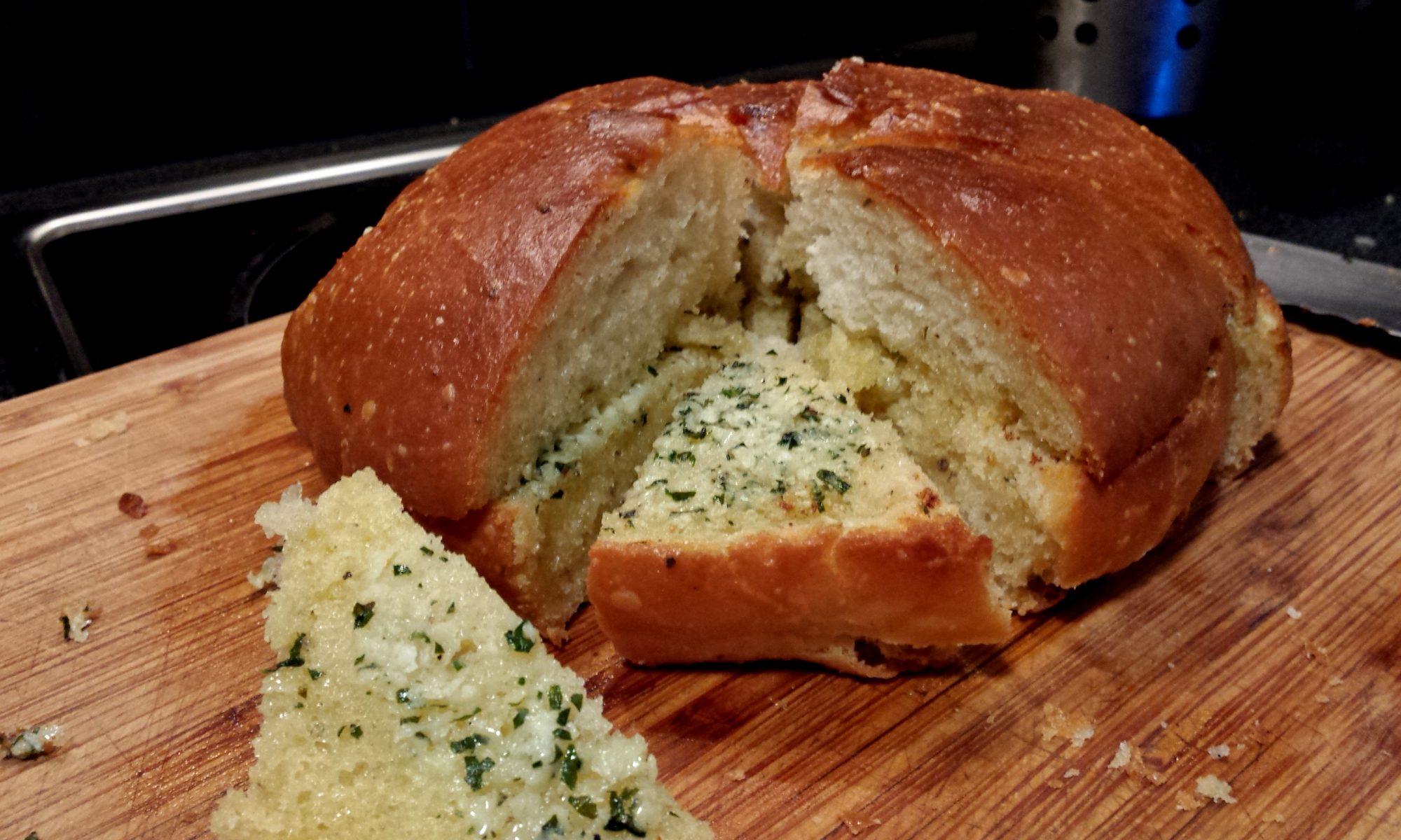 Préfou un pain à l'ail Vendéen