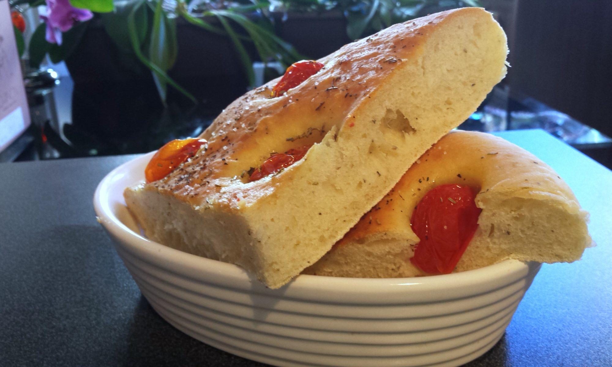 Focaccia tomate cerise