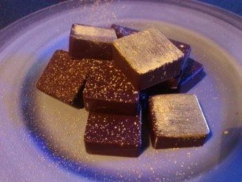 chocolat ganache fleur sel