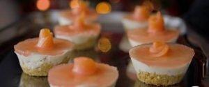 Minis cheesecakes au saumon et pamplemousse Emilie Sweetness