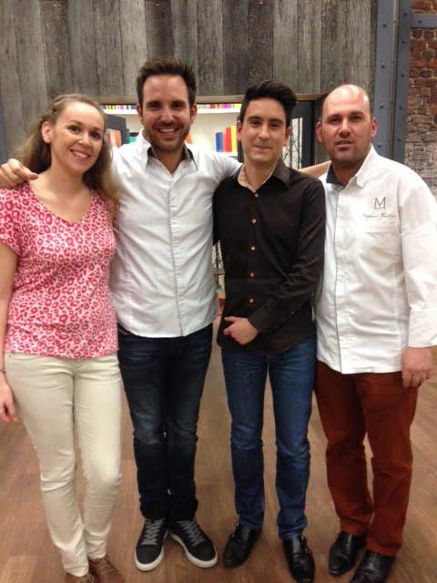 Sarah, Christophe Michalak et Stéphane Thoreton. Dans la peau d'un Chef