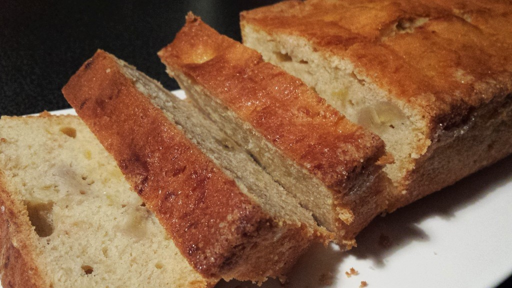 Cake mangue banane