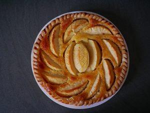 Tarte au pomme Alsacienne
