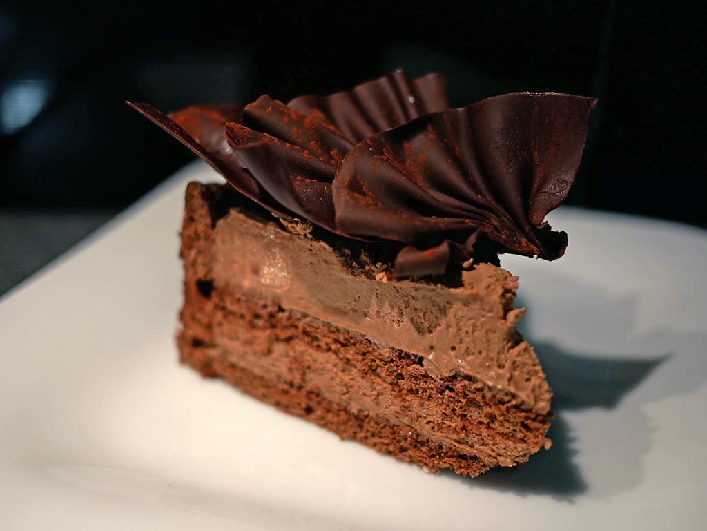 Bavaroise au chocolat