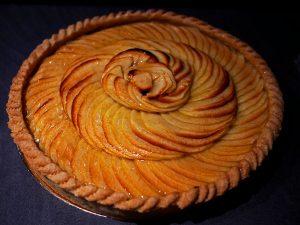 La tarte aux pommes