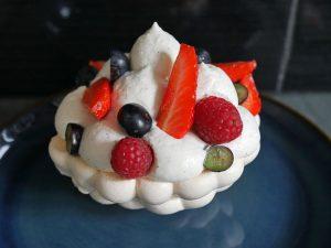 Il y a une vie en dehors du stage avec notamment la réalisation du pavlova aux fruits rouges.