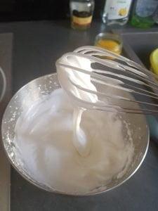Biscuit cuillère - monter les blancs