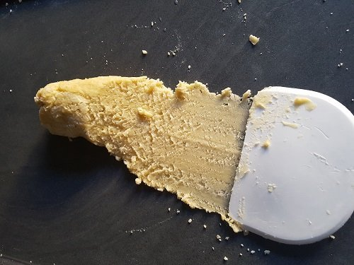 Pâte sablée - Fraser pour homogénéiser