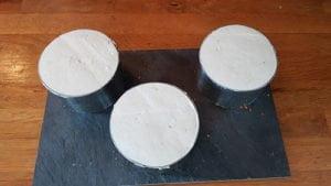 Montage du cheesecake