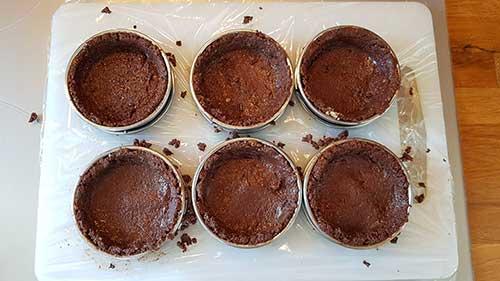 Biscuit reconstitué - la mise en forme