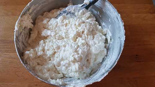 Riz au lait - texture allégée