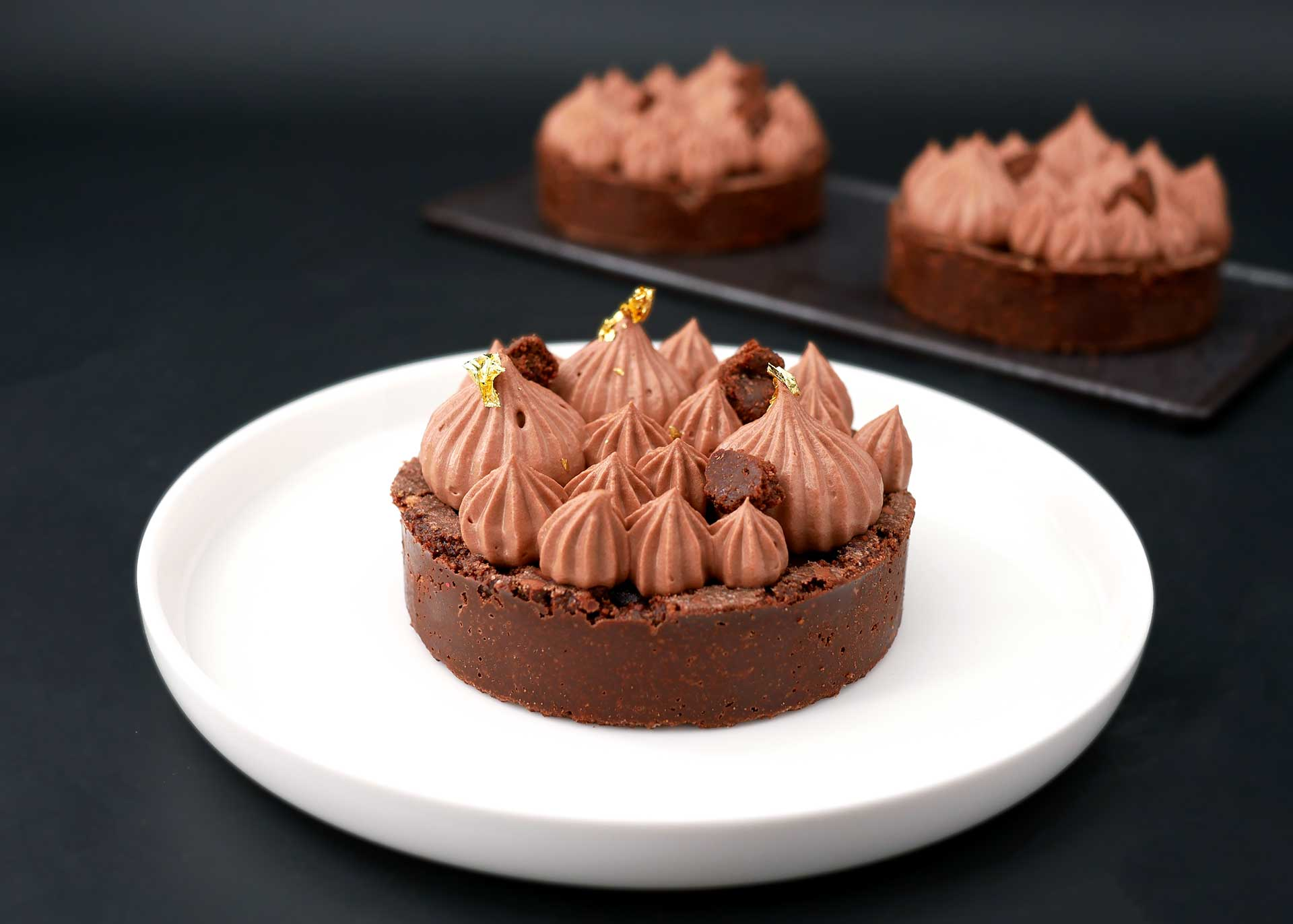 Tartelette chocolat noir absolu