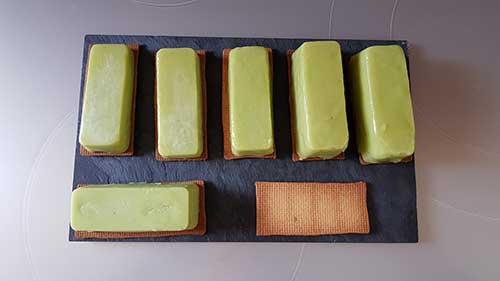 Tarte Mojito - montage de la crème