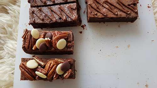 Brownie - le décors