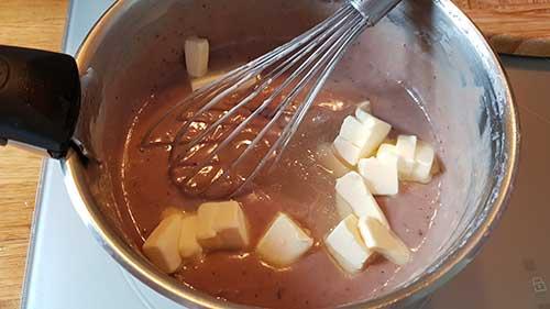 Crème pâtissière framboise