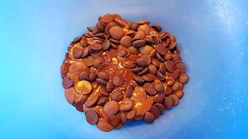 Ganache - fondre le chocolat