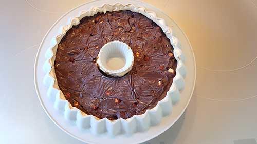 Caramelo - Ajout de la ganache