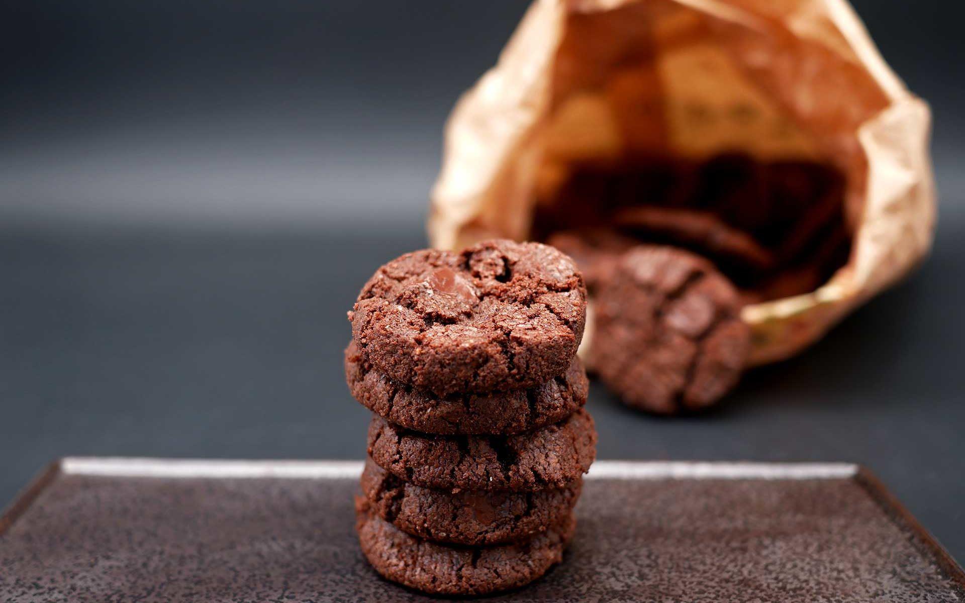 Sablés chocolat fleur de sel de Pierre Hermé