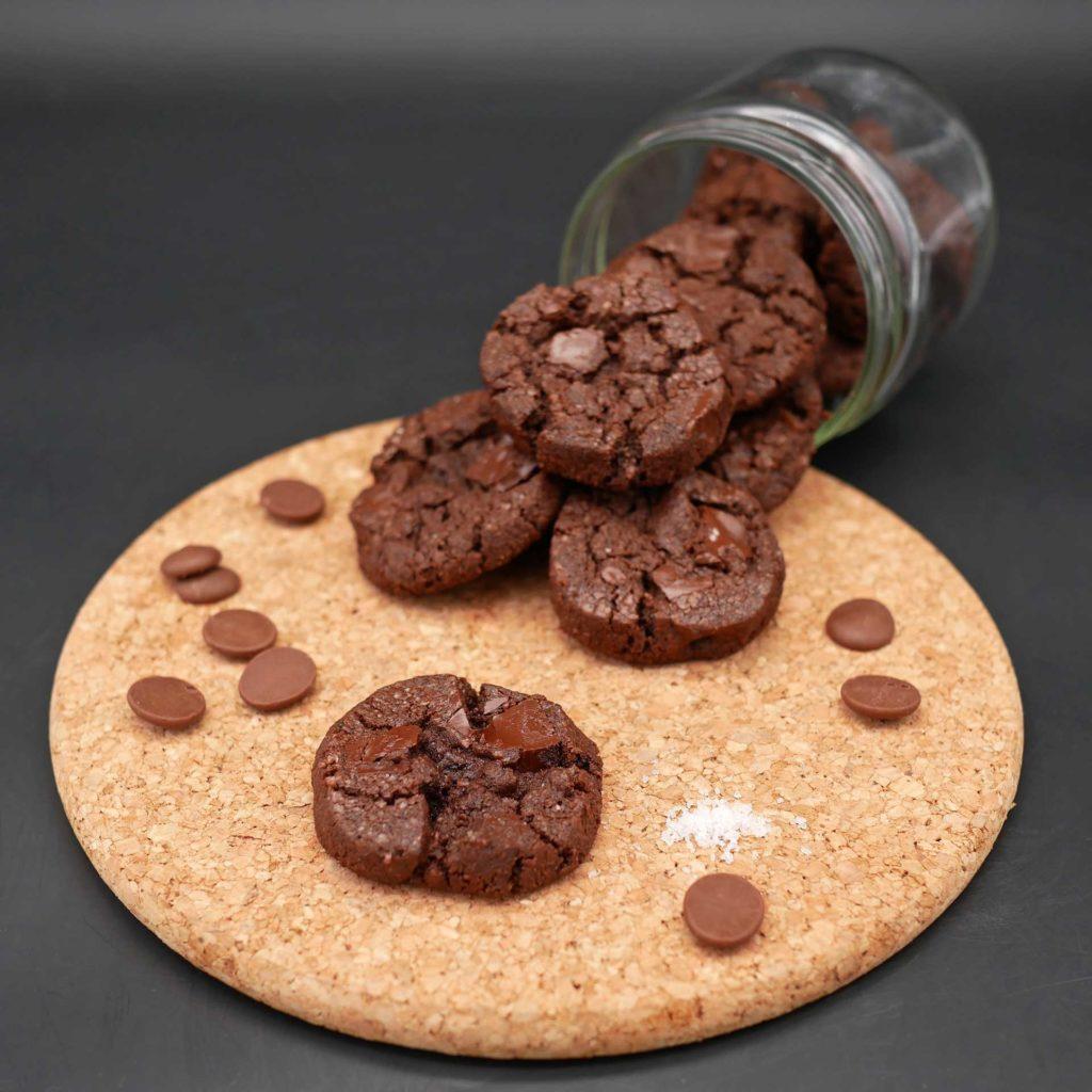 Sablés chocolat et fleur de sel de Pierre Hermé