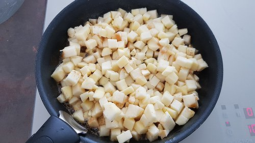 Compote - Cuire les pommes