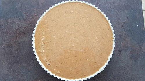 Pumpkin pie - la cuisson