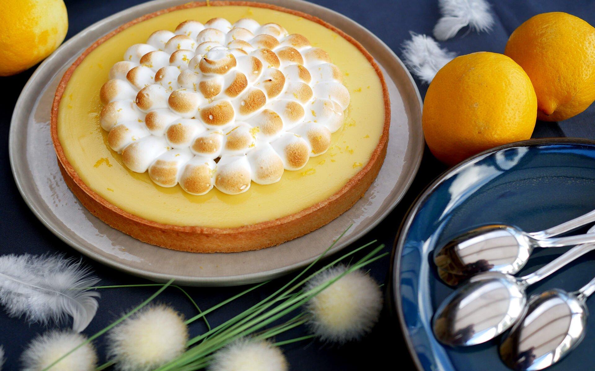 Tarte au citron meringuée - le grand classique