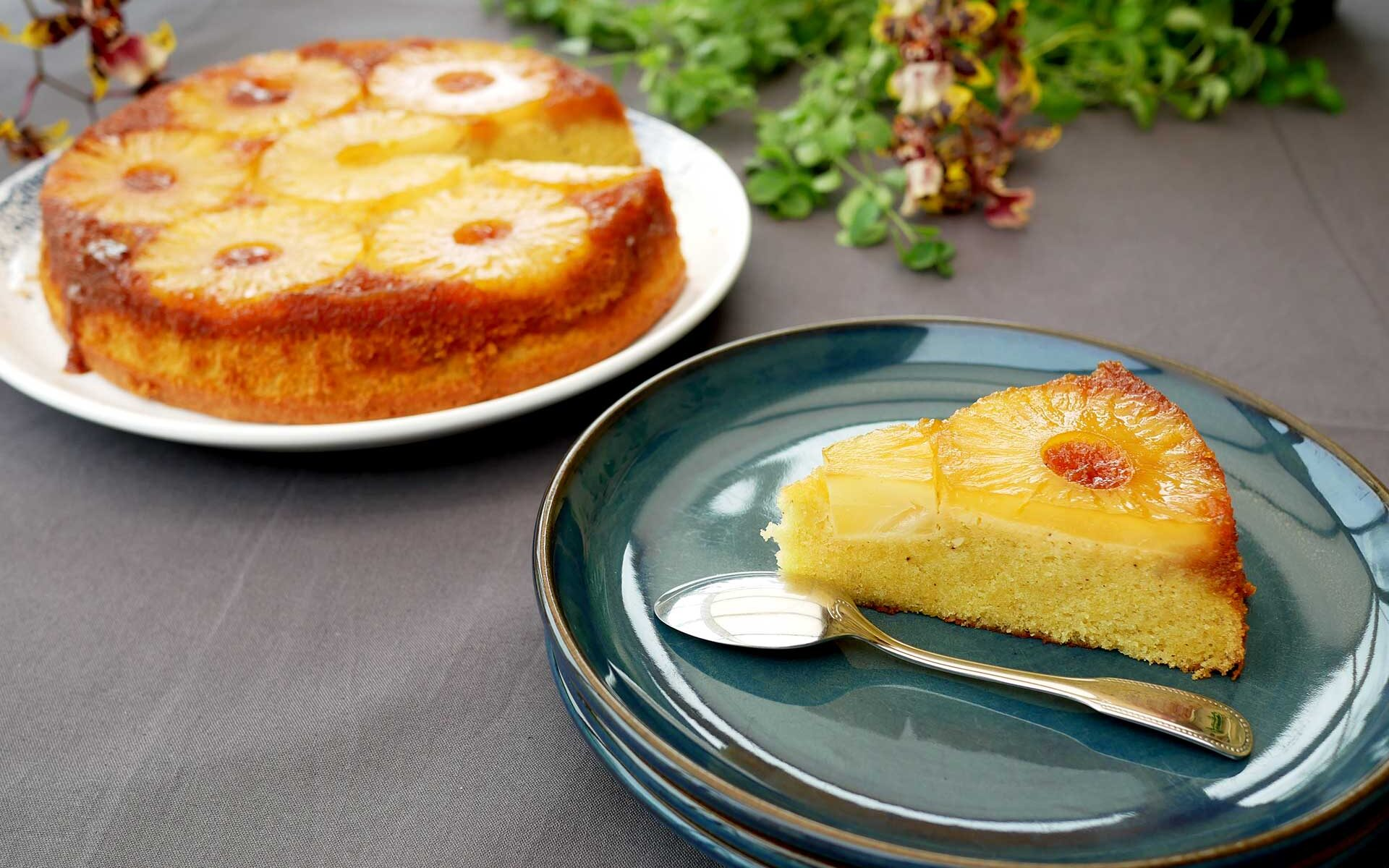 Gâteau ananas renversé