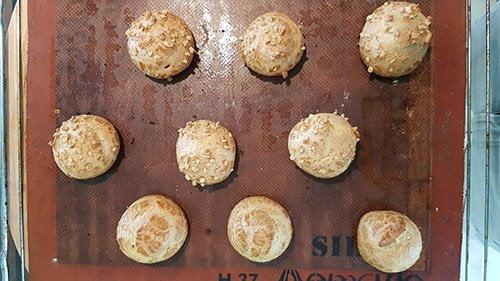 pâte à choux - la cuisson