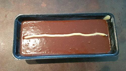 cake au chocolat - cuisson